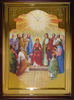 Икона Храмовая полуростовая Сошествие Святого Духа
