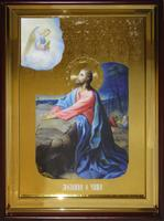 Икона Храмовая полуростовая Моление о Чаше