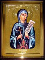 Икона Храмовая полуростовая Параскева Сербская