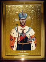 Икона Храмовая полуростовая Николай Царь