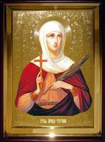 Икона Храмовая полуростовая Татьяна