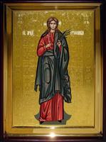 Икона Храмовая полуростовая Стефанида