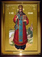 Икона Храмовая полуростовая Харалампий рост