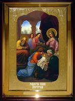Икона Храмовая полуростовая Рождество Иоанна Крестителя