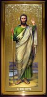 Икона Храмовая ростовая Иона Предтеча