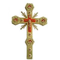 Крест напрестольный красный