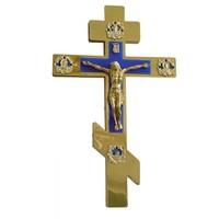 Крест напрестольный синий