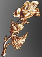Роза декоративная 45