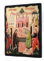 Икона Сретение Господня под старину