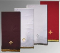 Полотенце для причастия  крестик вышивка