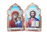 Складень Спаситель и Богородица мини