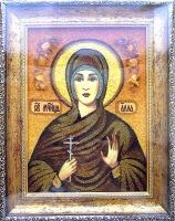 Янтарная икона Алла