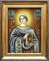 Янтарная икона Анастасия