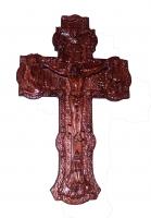 Крест напрестольный дерево лак