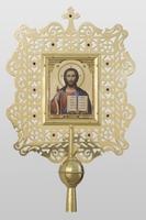Икона средняя металическая латунь