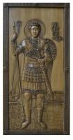 Резная икона Святой Димитрий рост