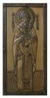 Резная икона Святой Спиридон рост