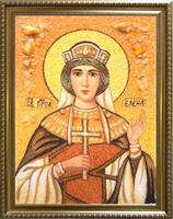Янтарная икона Елена