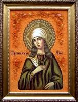 Янтарная икона Ева