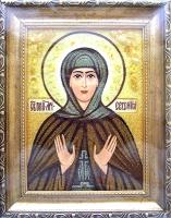 Янтарная икона Евгения