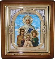 Икона Вера, Надежда, Любовь и София (26*23 см)
