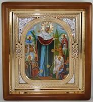 Икона Божья Матерь Всех скорбящих радость (26*23 см)