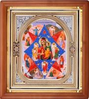 Икона Божьей Матери Неопалимая Купина (26*23 см)