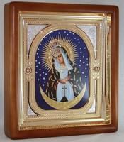 Икона Божьей Матери Остробрамская (26*23 см)