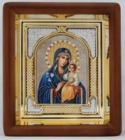 Икона Божьей Матери Неувядаемый цвет (19,5*16,5 см)
