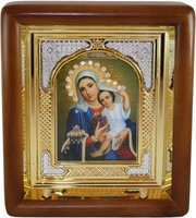 Икона Божьей Матери Покрывающая (19,5*16,5 см)