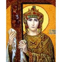 Икона из янтаря Елена Ривноапристольна