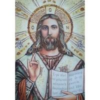 Икона из янтаря Господь Вседержитель