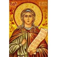 Икона из янтаря Праздники Юлия