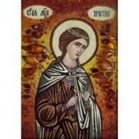 Икона из янтаря Праздники Кристина