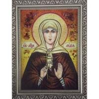 Икона из янтаря Праздники Лидия