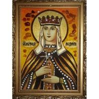 Икона из янтаря Праздники Людмила