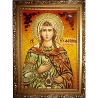 Икона из янтаря Праздники Светлана