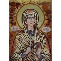 Икона из янтаря Святая София