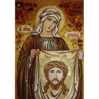 Икона из янтаря Святая мученица Вероника