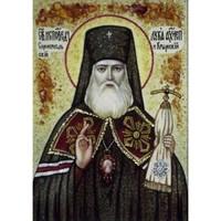 Икона из янтаря Святой Апостол Лука