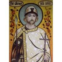 Икона из янтаря Святой Князь Борис