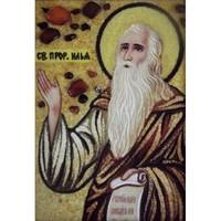 Икона из янтаря Святой пророк Илья