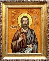 Янтарная икона Иоанн (1)