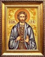 Янтарная икона Иван 2