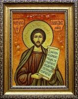 Янтарная икона Максим 2