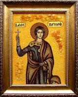 Янтарная икона Марк
