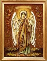 Янтарная икона Михаил (2)