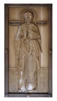 Резная икона Святой Николай Чудотворец рост