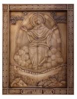 Резная икона Спорительница Хлебов