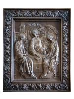 Резная подарочная икона Святая Троица